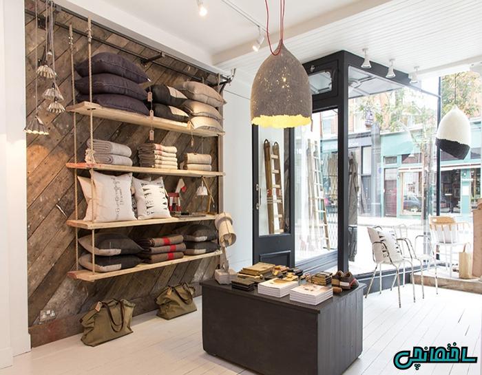 %عکس - طراحی دکوراسیون مغازه و فروشگاه