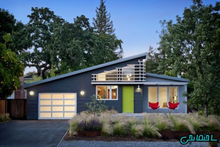 %عکس - 10 نمونه طراحی خانه ویلایی