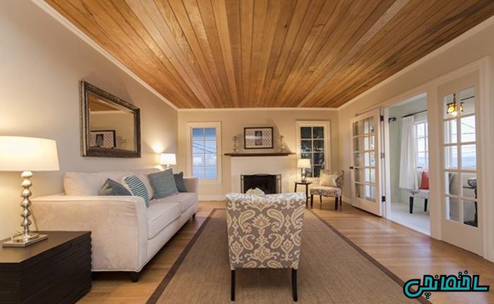 %عکس - افزایش زیبایی ساختمان با چوب