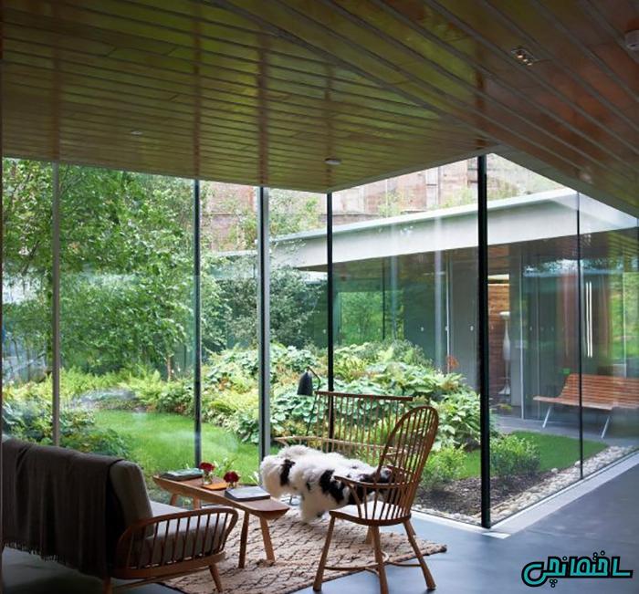 طراحی حیاط زیبا