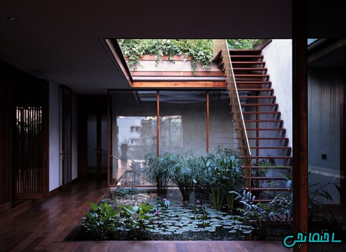 ساخت حیاط در خانه