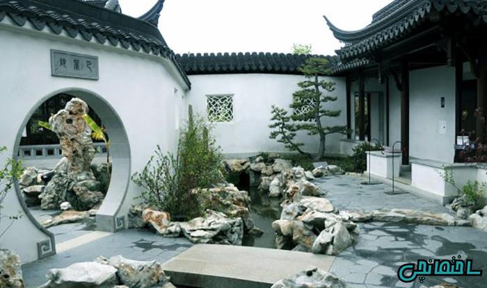حیاط آسیای شرقی