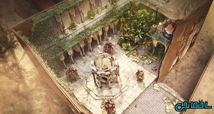 50 تصویر از طراحی حیاط های زیبا