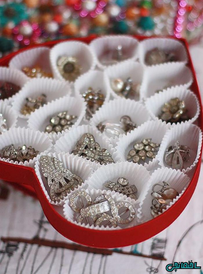 استفاده از جعبه جواهرات