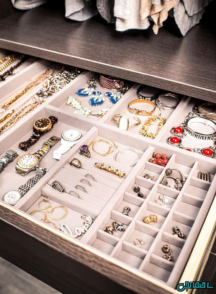 اکسسوری های نظم دهنده جواهرات