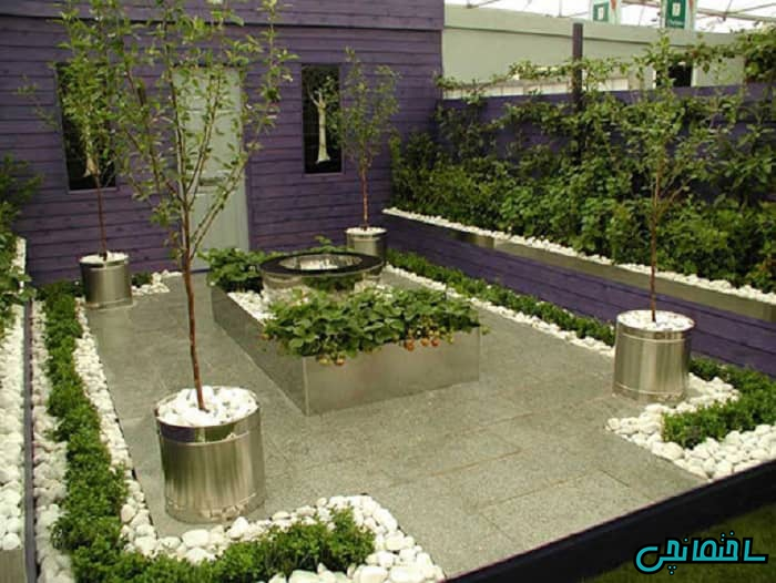 طراحی باغچه سبزیجات