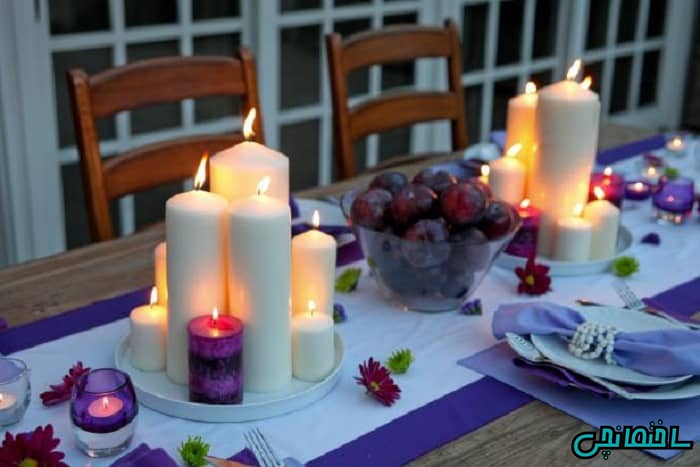 استفاده از شمع