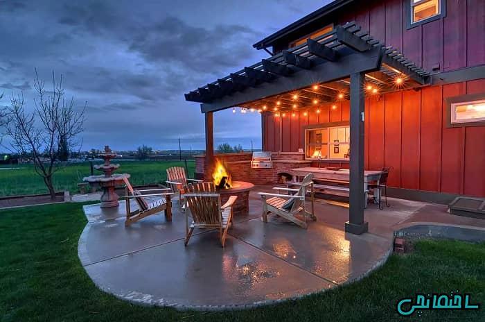 %عکس - 28 ایده طراحی آشپزخانه فضای باز رویایی