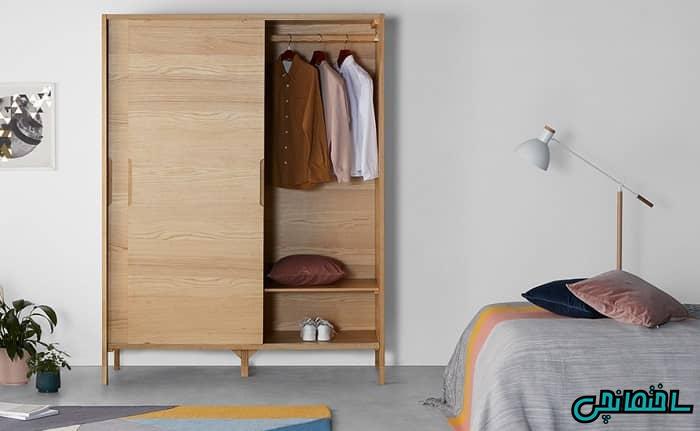 الماری لباس چوبی