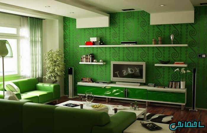 سبک مونوکروماتیک سبز