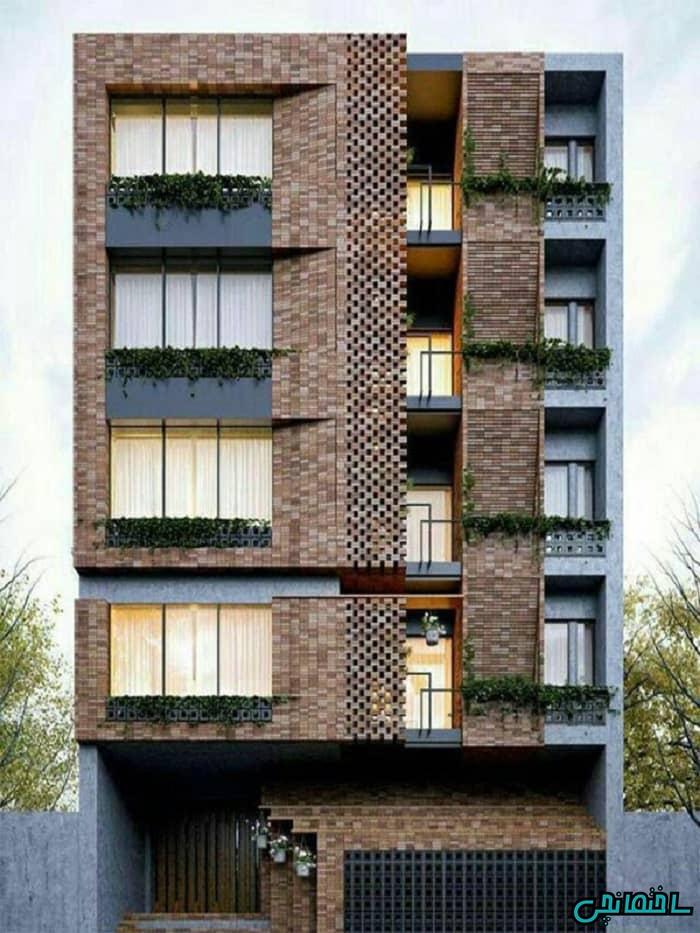 %عکس - گرفتن تاییدیه شهرداری برای ساخت نمای مدرن