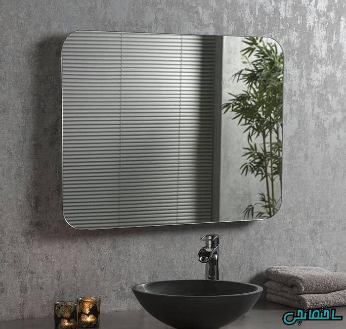آینه بدون قاب ساده