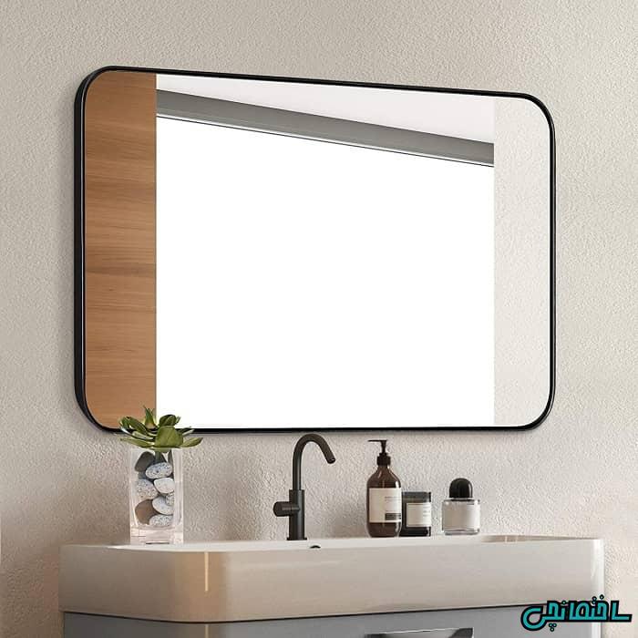 آینه روشویی قاب دار