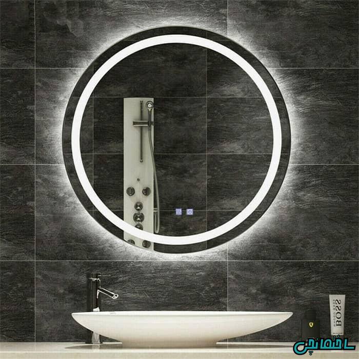 آینه روشویی ال ای دی دار