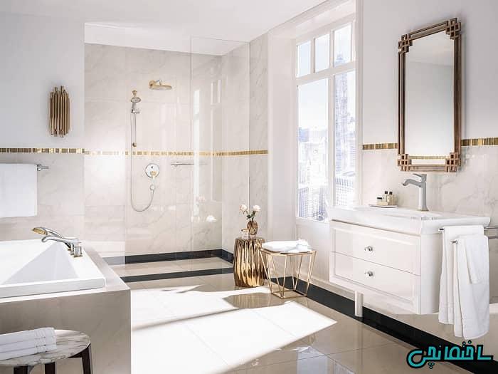 آینه روشویی کلاسیک