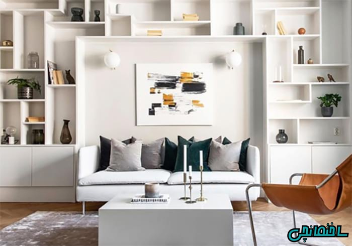 اصول کاربردی در طراحی اتاق نشیمن