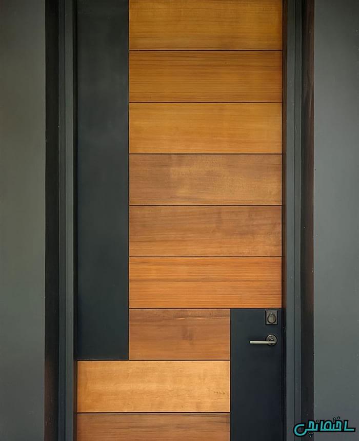 %عکس - درباره درب چوبی بیشتر بدانیم!
