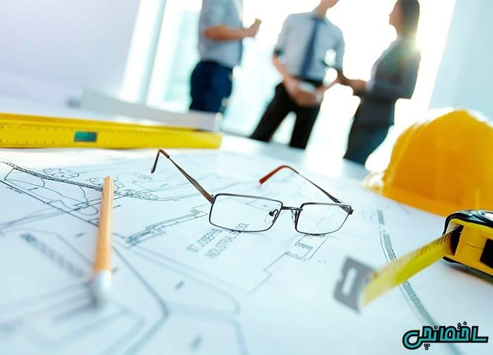 %عکس - مدیریت پروژه ساختمانی
