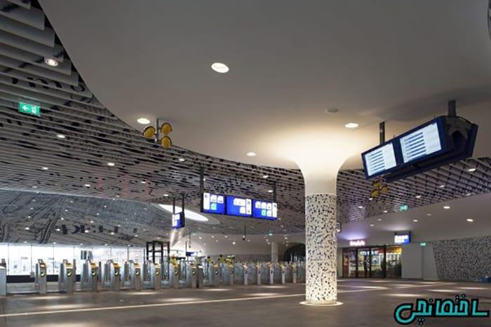 %عکس - تصاویر معماری با شکوه ایستگاه قطار شهری
