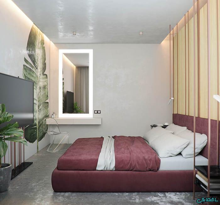 استفاده از گیاهان در اتاق خواب