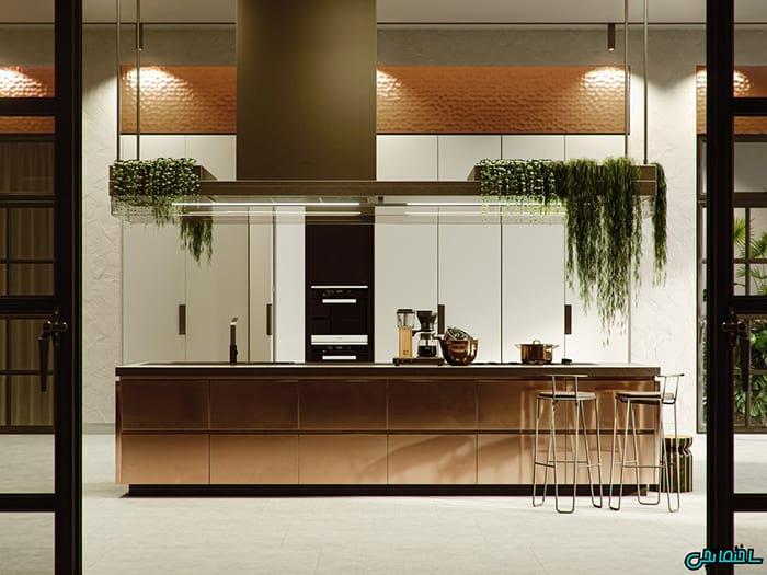 %عکس - تصاویر آشپزخانه های لوکس که شما را شگفت زده می کند!
