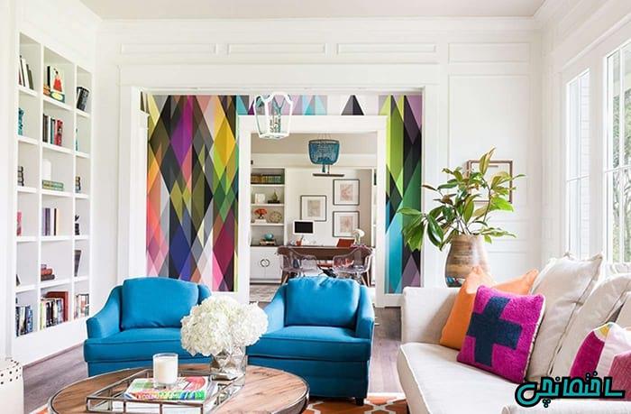 %عکس - ایده های برتر در دیزاین خانه