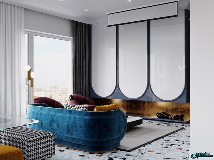 تصاویر طراحی داخلی با ظرافتی مدرن