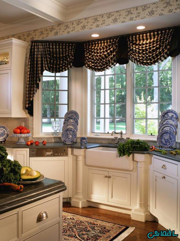 %عکس - 20 مدل پرده آشپزخانه