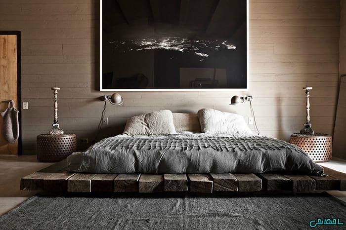 %عکس - تصاویر انواع اتاق خواب دنج و دوست داشتنی
