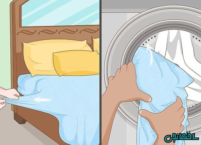 روتختی را بشویید