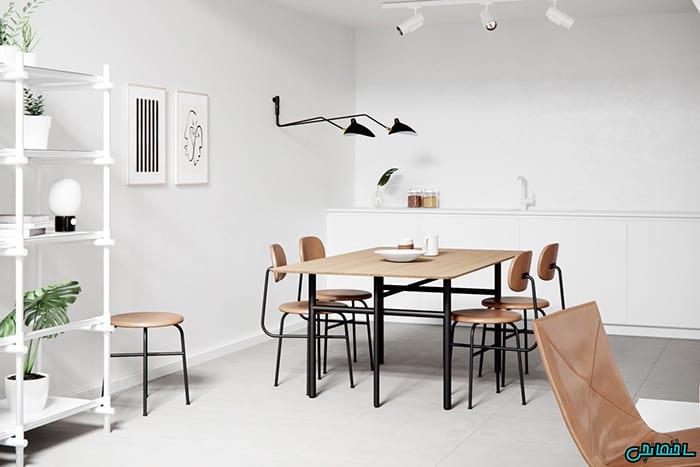 دیزاین اتاق غذاخوری