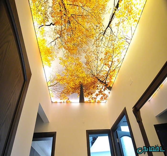 نورپردازی سقف کشسان