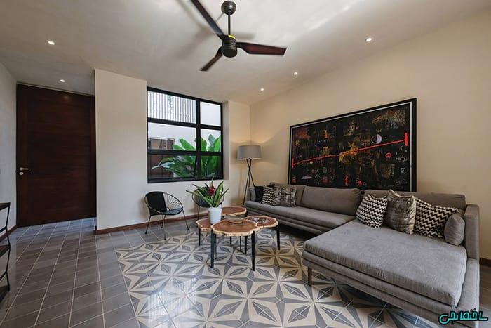 %عکس - تصاویر طراحی خانه با سرامیک طرح دار
