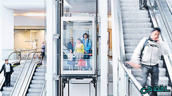 مدل آسانسور