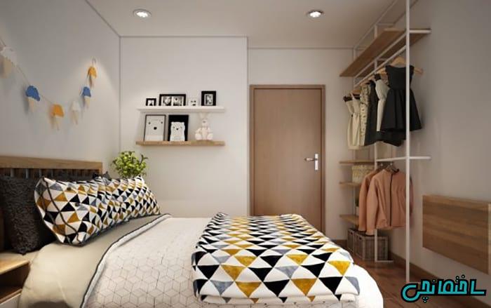 %عکس - تصاویر طراحی دکوراسیون آپارتمان مدرن کوچک
