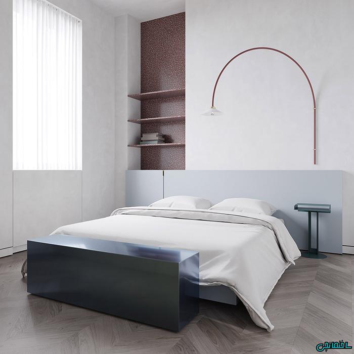 اتاق خواب سبک مینیمالیست