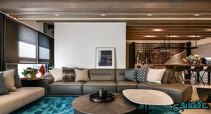 بازسازی فضای داخلی منزل