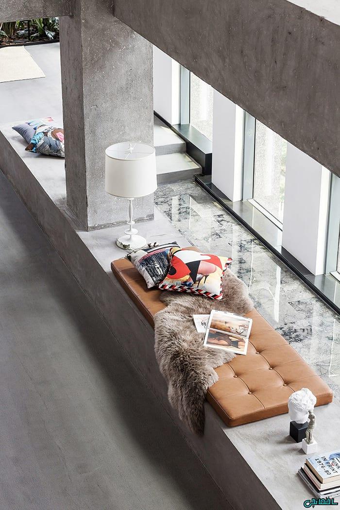 تصاویر ایده هایی از تلفیق فضای کار در طراحی خانه