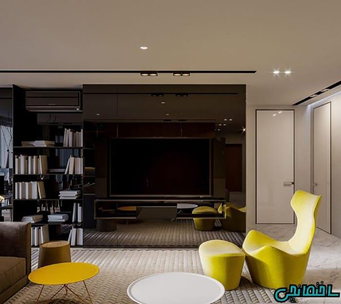 تصاویری از طراحی دکوراسیون برای طراحی فضای کوچک