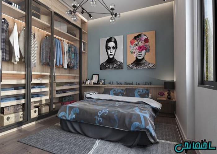 اتاق خواب هنری