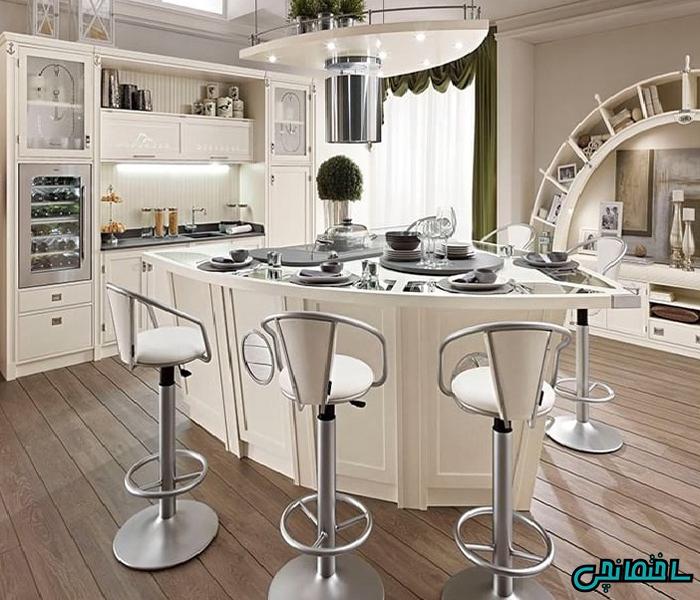 %عکس - صندلی اپن آشپزخانه
