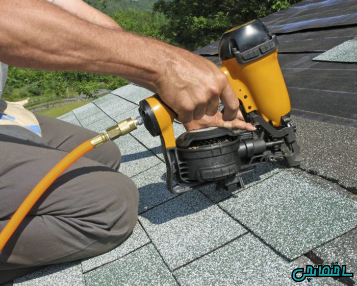 تعمیر سقف شینگل