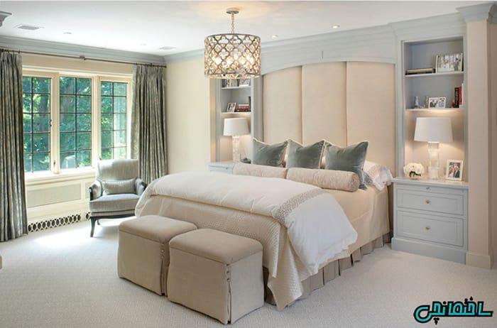 انتخاب المان مناسب در طراحی اتاق خواب