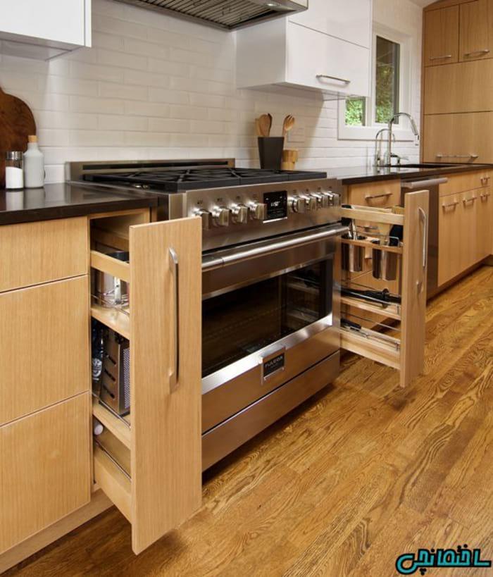 %عکس - 10 مدل کابینت آشپزخانه های کوچک