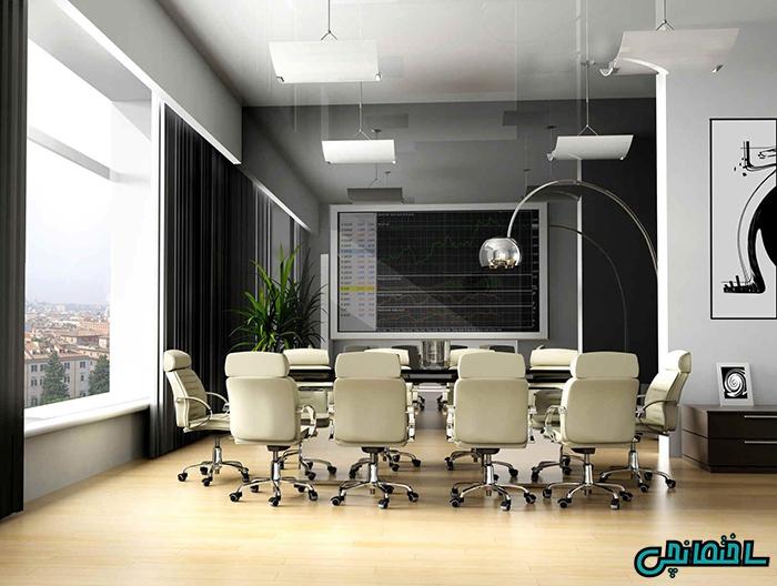 دفتر کار بزرگ