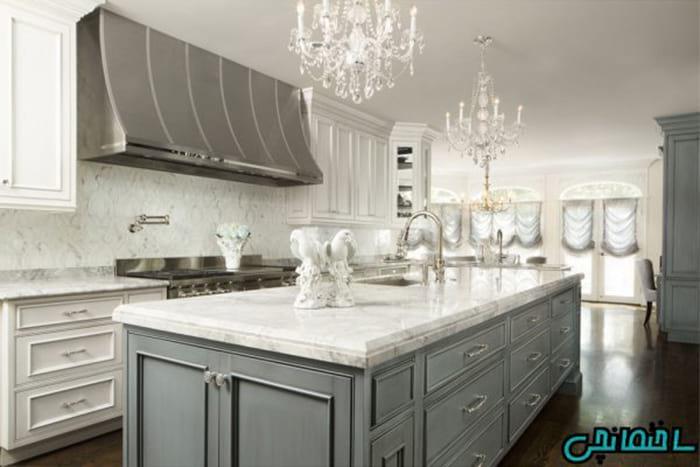جدیدترین مدل پرده آشپزخانه