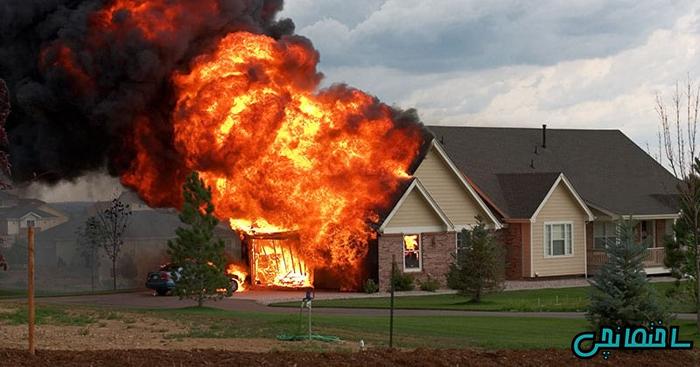 %عکس - چگونه می توان خانه ای مقاوم در برابر آتش ساخت؟