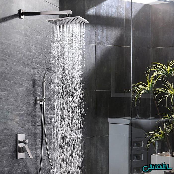 %عکس - تفاوت پنل دوش و یونیورست حمام چیست؟