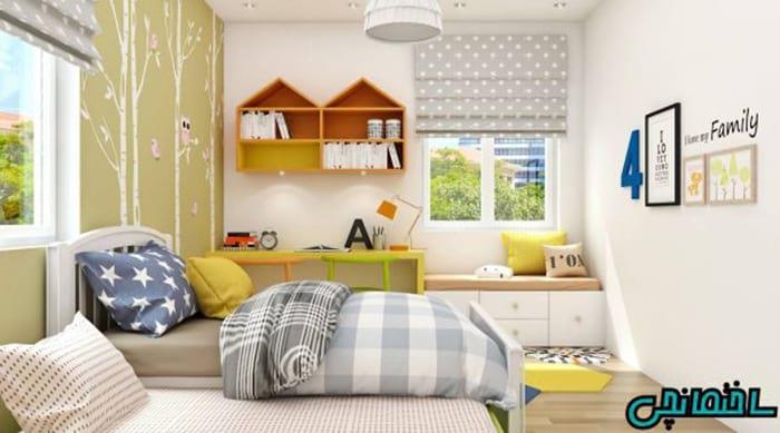 اتاق بچه به رنگ زرد