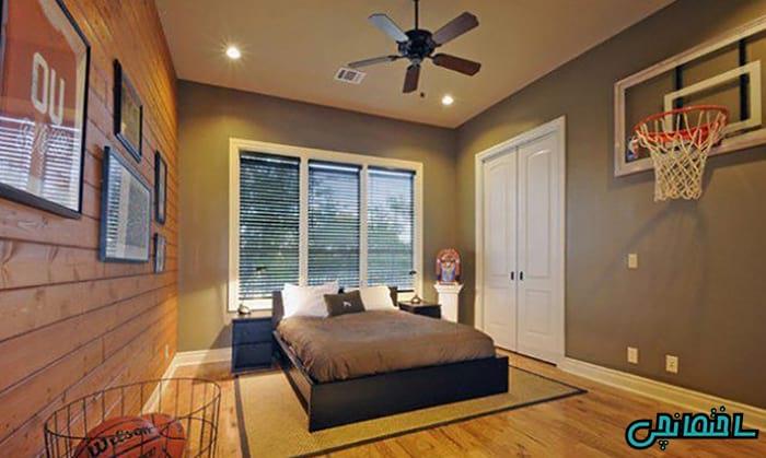 %عکس - دکوراسیون اتاق خواب پسرانه